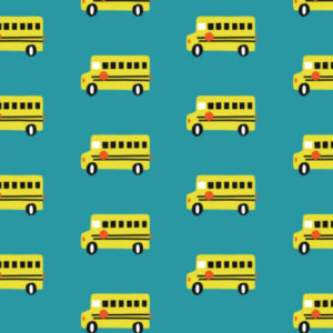 Swafing_Jersey Sidewalk Knit_School Bus