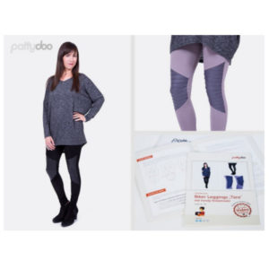 Schnittmuster_Pattydoo_Damen Leggings Tara